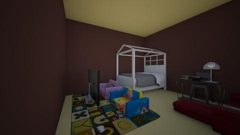 for cristina enemies - Kids room - by Maria Jose y alex