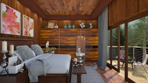 wooden room  - Modern - Bedroom - by Ida Dzanovic