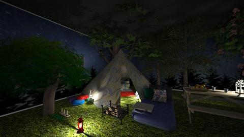 Camping - Garden - by tekoa06