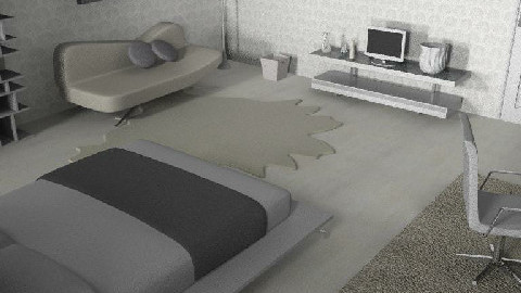 where has all the colour gone2 - Bedroom - by creo_forma
