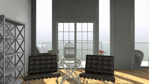 big room - Rustic - Bedroom - by hemelehem