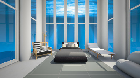 Underwater Room - Modern - Bedroom - by CeeCee_