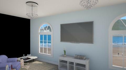 elies beach den - Living room - by fairydust774