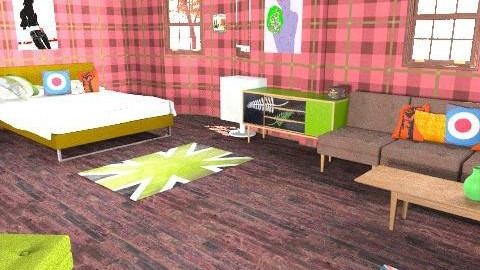 Punkrock room - Bedroom - by lovegirl1782