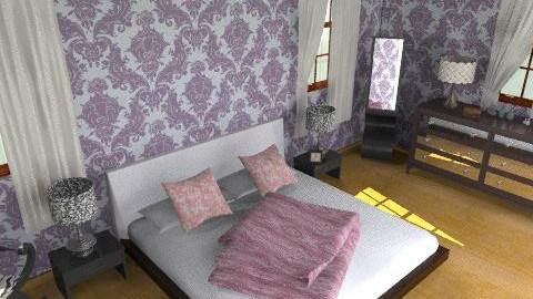 princessy elegent room - Vintage - Bedroom - by oscalora