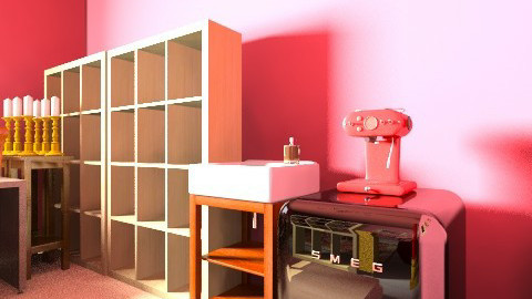 red and goldlast - Vintage - Office - by Helena Pereira