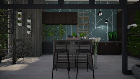 Urban Jungle Kitchen - Kitchen - by KimAlys