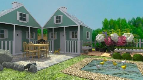 sweet sweet garden - Country - Garden - by evakiew