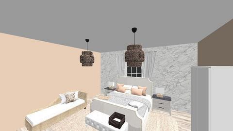 modern eclectic - Bedroom - by EllaNaznin