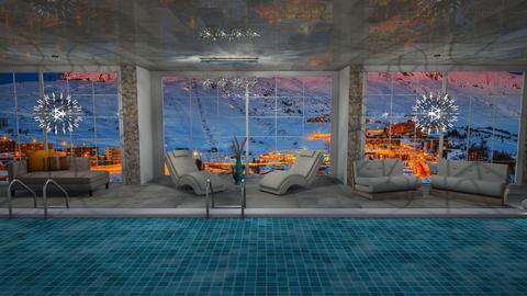 pool space - Bathroom - by mag47