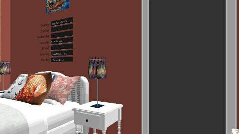 Alias bedroom - Feminine - Bedroom - by Aliahamr