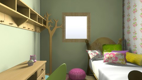 tommelise room1 - Vintage - Kids room - by karianna