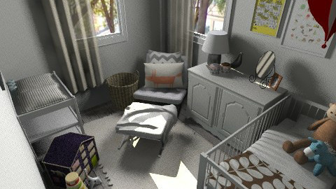 Baby Room Sm - Bedroom - by pthomas