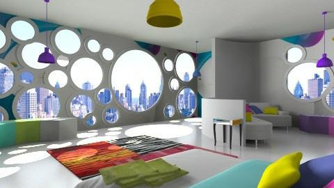 The Home of IOS7 - Modern - Bedroom - by Wozniazailia_