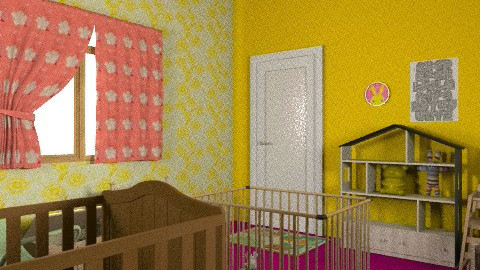 Baby girls room - Country - Kids room - by KtDundee
