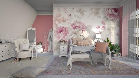 pink - Bedroom - by anjaam