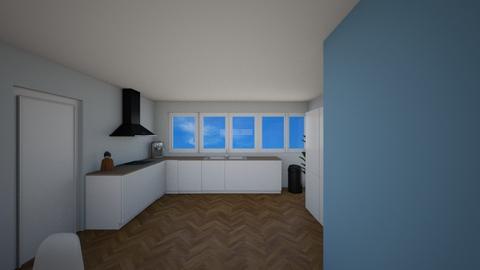 zonder kookeilandje - Living room - by Mthe