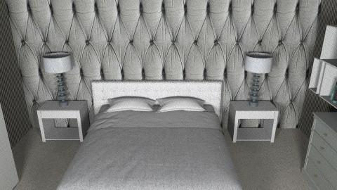 hotelroom - Bedroom - by Caitlin Johnston