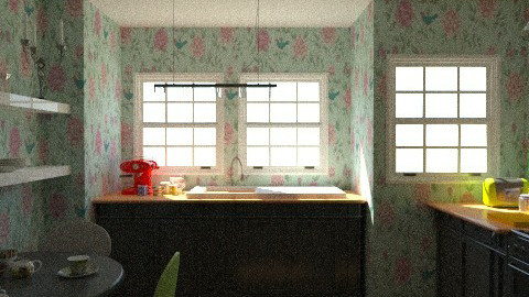 Kitsch Kitchen - Eclectic - Kitchen - by xoxfranklinxox