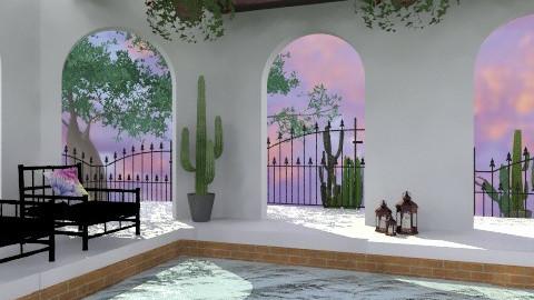 Hacienda - Country - Garden - by PomBom