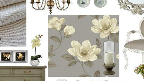 French Gray - Country - Bedroom - by DearDesigner