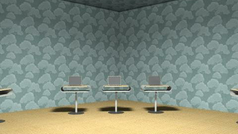 Cloud Computing Room - Minimal - Office - by tfrancis1001