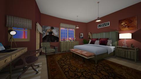 bedroom - by kla