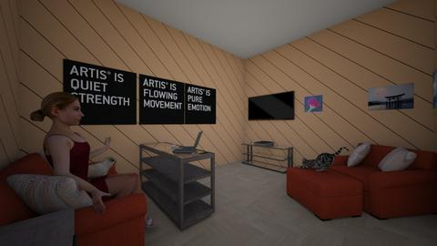Elon Dixon Room Final - Living room - by McClintock
