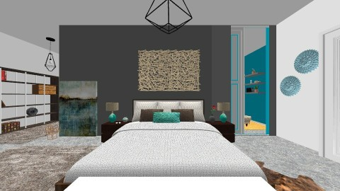 concrete2 - Bedroom - by Glendyx