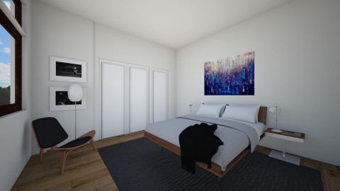 Wolverine 1st flr Bedroom - Bedroom - by elaw