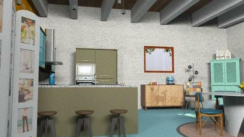 brooklyns house3 - Retro - Kitchen - by kadee1111