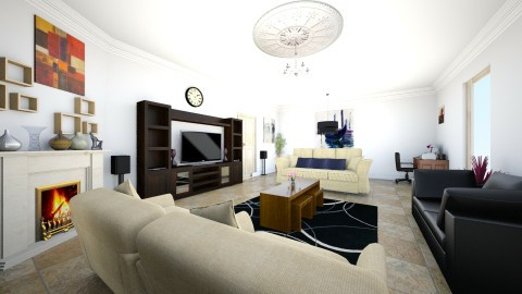 Illoh Sitting Room - Modern - Living room - by Ehikoncept