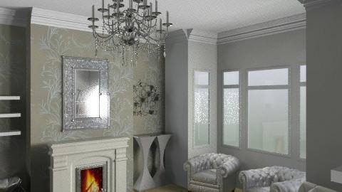 Spacekitten's Living Room_Grey - Glamour - Living room - by giulygi