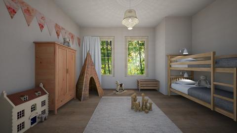 neutrals 7 - Kids room - by sipe1