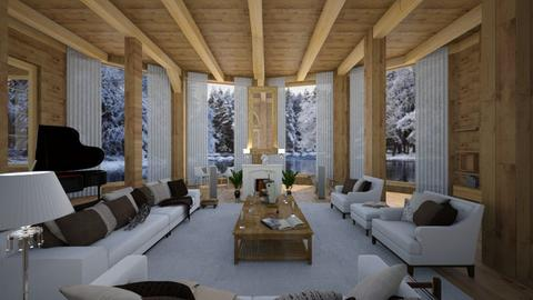 ready chalet - Country - Living room - by Nick Burckhard