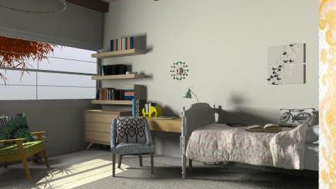 djwl - Retro - Bedroom - by judimay11
