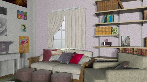 glamour living - Glamour - Living room - by leahjane