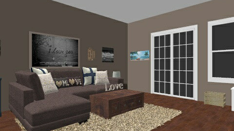 Family Room - Living room - by crobinson325