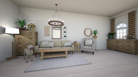 Natural Vintage Oak - Living room - by DinosOnFire