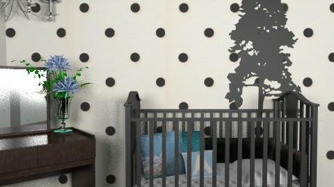 Polka-Dot Nursery - Modern - Kids room - by kishwick