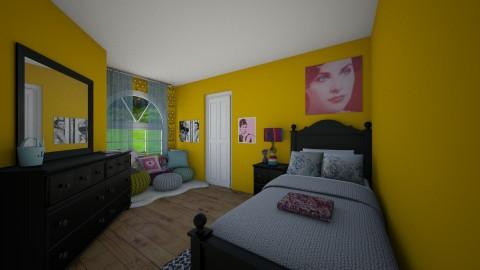 Odd Room - Bedroom - by hwoodward1