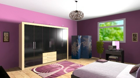 bedroom - Modern - Bedroom - by Audie