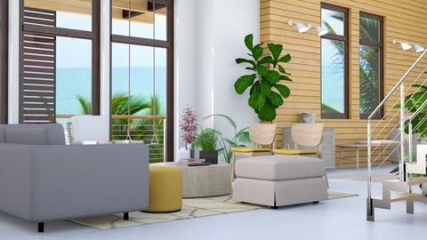 Coastal Penthouse - Modern - Living room - by millerfam
