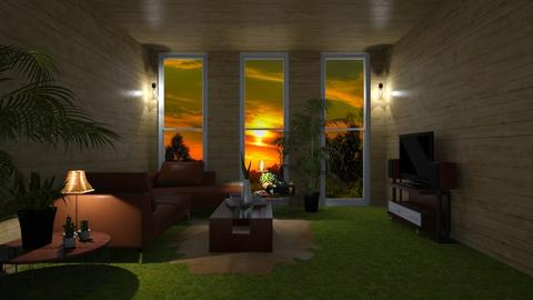 NATURE LOVER LIVING ROOM - Living room - by KC Pechangco