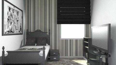 small boys room - Classic - Bedroom - by AmyMcGrane