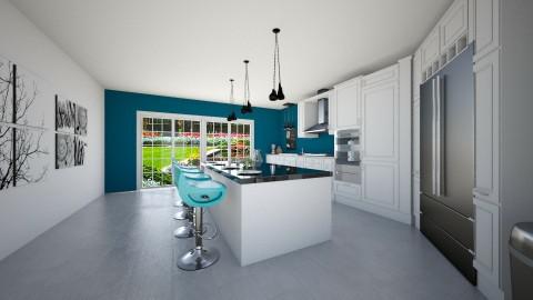 Kitchen1 - by Nicole Robbie
