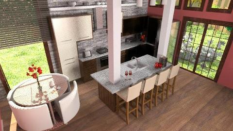 Spring taste - Modern - Kitchen - by Rainbowchick