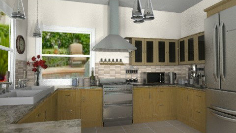 Mocha - Modern - Kitchen - by Bibiche