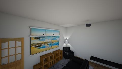attic - Modern - Living room - by PEterkernohan
