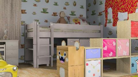 kids room 1 - Glamour - Kids room - by RedLipSticK